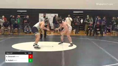 285 lbs Final - Hogan Swenski, Bermudian Springs vs Riley Robell, Bishop McDevitt