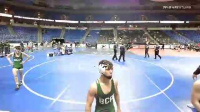 132 lbs 5th Place - Skylar Smith, Texas vs Dyson Dunham, Virginia