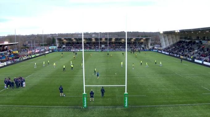 Newcastle Falcons vs Edinburgh Rugby