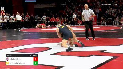 165 lbs Prelims - Ethan Smith, Ohio State vs Tyler Meisinger, Michigan
