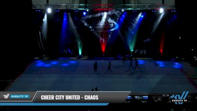 Cheer City United - CHAOS [2021 L1 Tiny - Novice - Restrictions Day 2] 2021 The U.S. Finals: Pensacola