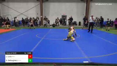 60 lbs Consolation - Jacob Lutz, Princeton vs Gavin Deloughery, West Milford