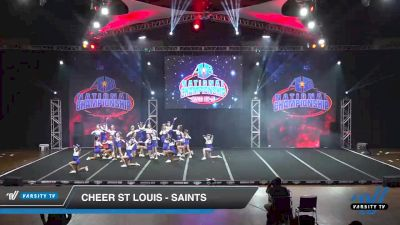 Cheer St Louis - Saints [2019 Senior - Small 2 Day 2] 2019 America's Best National Championship