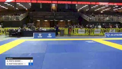 ALEXSSANDRO PINTO SODRÉ vs GARRETT MATTHEW BECK 2021 Pan Jiu-Jitsu IBJJF Championship