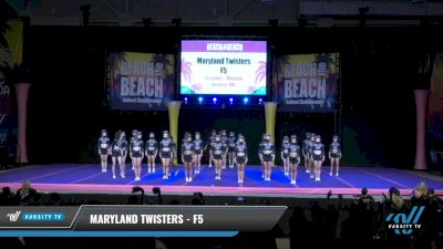 Maryland Twisters - F5 [2021 L6 Senior - Medium Day 1] 2021 ACDA: Reach The Beach Nationals