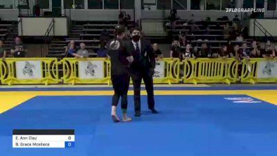 Elisabeth Ann Clay vs Bridget Grace Mceliece 2021 Pan IBJJF Jiu-Jitsu No-Gi Championship