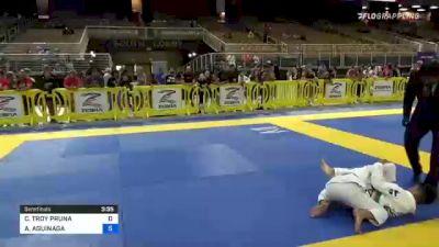 CHRISTIAN TROY PRUNA vs ANTONIO AGUINAGA 2021 Pan Kids Jiu-Jitsu IBJJF Championship