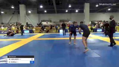 MATIAS WAJNER vs CHRISTIAN VUKAJ 2021 American National IBJJF Jiu-Jitsu Championship