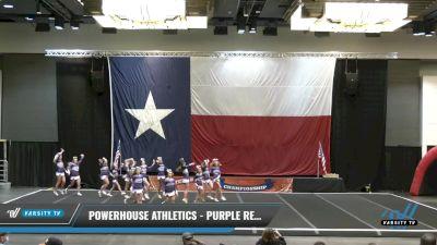 PowerHouse Athletics - Purple Reign [2021 L4 Junior - D2 Day 1] 2021 ACP Power Dance Nationals & TX State Championship