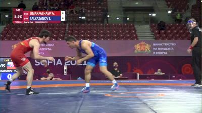 74 kg Ali-Pasha Umarpashaev, BUL vs Taimuraz Salkazanov, SVK