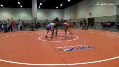 57 kg 7th Place - Timothy Levine, Unattached vs Chance Lamer, Mat Sense Wrestling