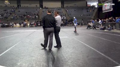 285 lbs 5th Place - Andre Bissainthe, Iowa Lakes vs Zach Santee, Niacc