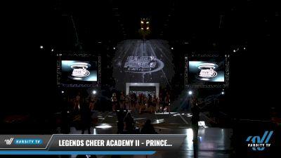 Legends Cheer Academy II - Princess Platinum Spades [2021 L3 Senior - Small Day 2] 2021 The U.S. Finals: Louisville