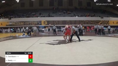 Match - Cale Davidson, Wyoming vs Jacob Seely, Northern Colorado