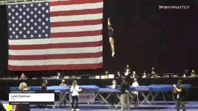 Leah Edelman - Individual Trampoline, ETA - 2021 USA Gymnastics Championships