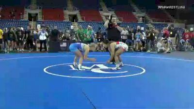 112 lbs Quarterfinal - Jenavi Alejandro, Nevada vs Sage Mortimer, Utah
