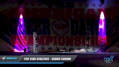 Five Star Athletics - Senior Chrome [2021 L3 Senior Coed - Medium Day 1] 2021 The American Celebration DI & DII