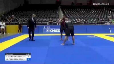 STEVEN CAMERON RHODES vs MARCELO FIGUEIREDO GONÇALVES 2021 World IBJJF Jiu-Jitsu No-Gi Championship