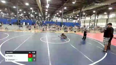 65 lbs Rr Rnd 3 - Jett Foster, The Funky Singlets vs Ava Ocampo, Elite Athletic Club