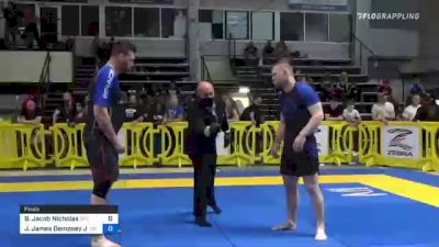 Brett Jacob Nicholas vs Jesse James Dempsey Jr 2021 Pan IBJJF Jiu-Jitsu No-Gi Championship