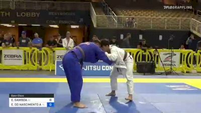 EDGAR GAMBOA vs EDILSON DO NASCIMENTO AZEVEDO 2021 Pan Jiu-Jitsu IBJJF Championship