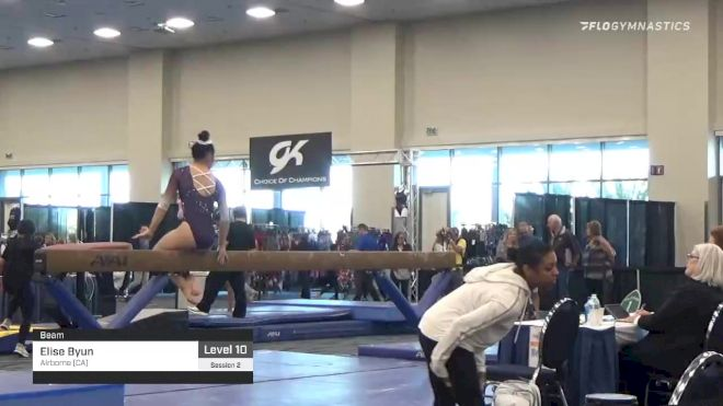 Elise Byun - , Airborne (CA) - 2020 California Grand Invitational & Collegiate Challenge