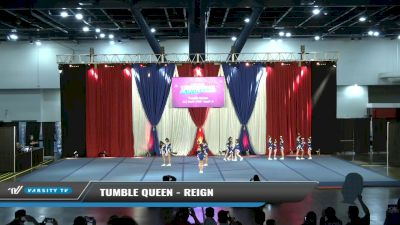 Tumble Queen - Reign [2021 L1.1 Youth - PREP - Small - A Day 1] 2021 The American Spectacular DI & DII