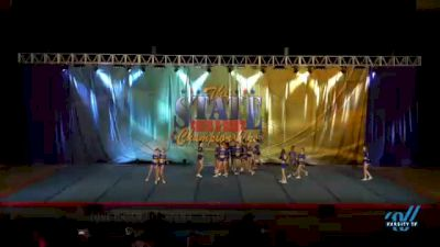 Zone Cheer All-Stars - Steel [2021 L2 Senior - D2 - Small Day 2] 2021 The STATE DI & DII Championships