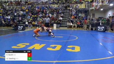 152 lbs Semifinal - Ed Scott, Dubois vs Caleb Dowling, Saint Joe's Academy