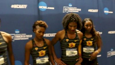 USC 4x4 Women Were Inspired By Kendall Ellis' American Record