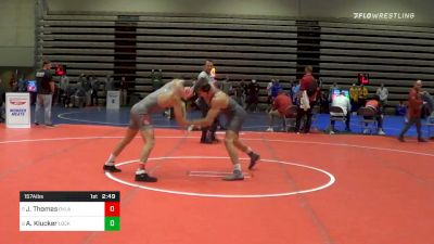 Prelims - Justin Thomas, Oklahoma vs Alexander Klucker, Lock Haven