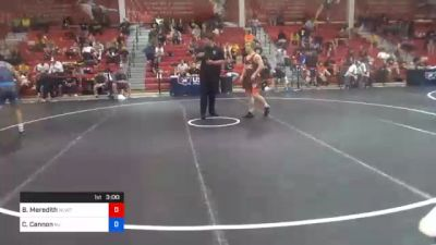 61 kg Prelims - Brandon Meredith, Nittany Lion Wrestling Club vs Chris Cannon, New Jersey