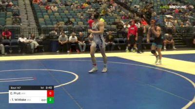 174 lbs Round Of 32 - Cole Pruit, Unattached vs Travis Wittlake, Unattached