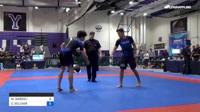 GABRIEL VITOR FERREIRA SANTOS vs BOLIVAR ROBERTO PENAHERRERA 2019 Pan IBJJF Jiu-Jitsu No-Gi Championship