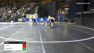 165 lbs 5th Place - Joe Lee, Penn State vs Jake Wentzel, Pittsburgh