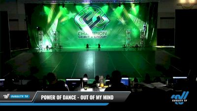 Power of Dance - Out Of My Mind [2021 Senior Coed - Hip Hop Day 3] 2021 CSG Dance Nationals