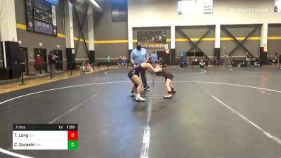117 lbs Semifinal - Taylin Long, Illinois vs Carissa Qureshi, California