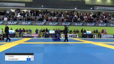 JOHN LENNO MELO vs LEONARDO FERNANDES 2019 European Jiu-Jitsu IBJJF Championship