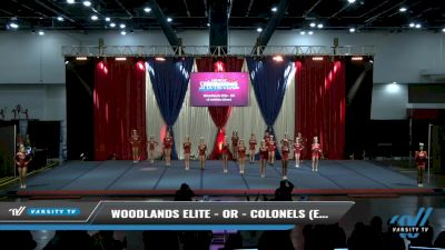 Woodlands Elite - OR - Colonels (Exhibition) [2021 L6 Exhibition (Cheer) Day 2] 2021 The American Spectacular DI & DII