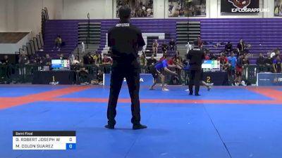 DONALD ROBERT JOSEPH WESTMAN vs MARLON COLON SUAREZ 2019 Pan IBJJF Jiu-Jitsu No-Gi Championship