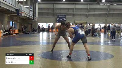 3rd Place - Zach Ancewicz, Edinboro vs Benjamin Smith, Cleveland State