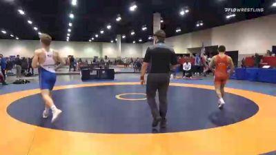 57 kg Prelims - Brendon Garcia, Wyoming Wrestling Reg Training Ctr vs Devin Schroder, Boilermaker RTC