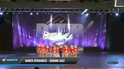 Dance Dynamics - Senior Jazz [2021 Senior - Jazz - Large Day 2] 2021 ACP Power Dance Nationals & TX State Championship