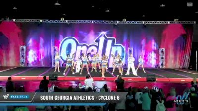 South Georgia Athletics - Cyclone 6 [2021 L6 Senior Coed - Small Day 2] 2021 One Up National Championship