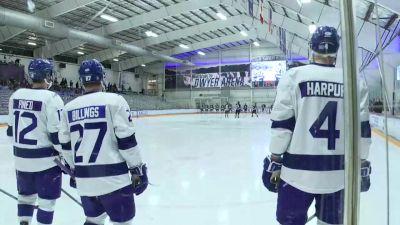 Full Replay - Holy Cross vs Niagara   Atlantic Hockey