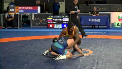 57 kg Quarterfinal - Daton Fix, USA vs Pedro Mejias Rodriguez, VEN