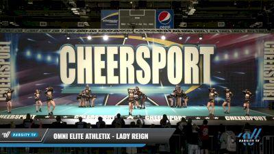 Omni Elite Athletix - Lady Reign [2021 L2 Senior - D2 Day 1] 2021 CHEERSPORT: Charlotte Grand Championship