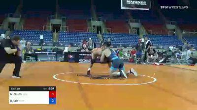 97 kg Rr Rnd 1 - Morgan Smith, Ohio Regional Training Center vs Duncan Lee, Iowa