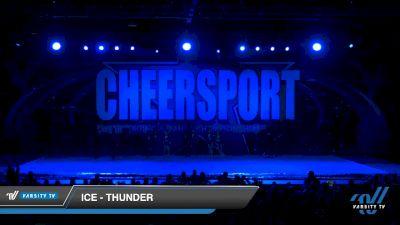 ICE - Thunder [2020 Senior XSmall Coed 6 Division B Day 2] 2020 CHEERSPORT National Cheerleading Championship