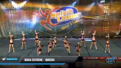 Boca Extreme - Queens [2021 L3 Senior - D2 Day 2] 2021 South Florida DI & DII Nationals